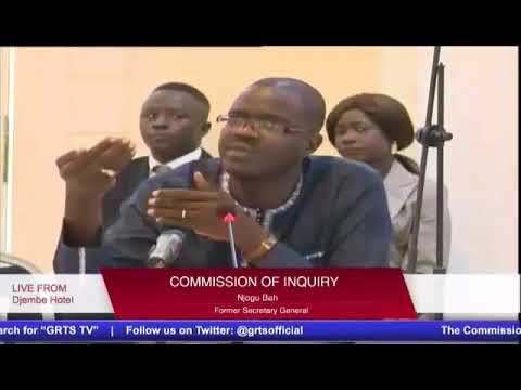 Full Coverage Of The 47TH Sitting Of The Gambia Commission Of Enquiry  (Part 2)
