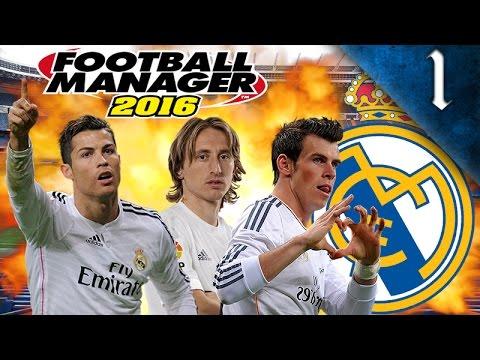 FOOTBALL MANAGER 2016 - REAL MADRID EP. 1 - IBRAHIMOVIC SIGNS!