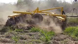Duże traktory w akcji