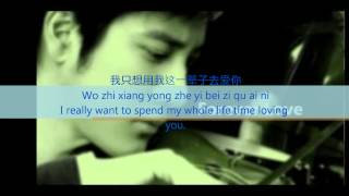 Forever Love - Wang Lee Hom [ with english substitle translation] HQ