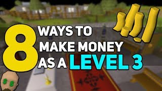 8 Ways to Make Money as a Level 3 on OSRS