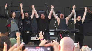 """Dont Back Down & One & Mammoth & Ed"" Mammoth WVH@Hersheypark PA Stadium 7/31/21"