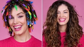 Curly Hairstyles | Hairstyling Hacks Every Girl Should Know! Speed Up Your Beauty Routine