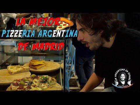 LA MEJOR PIZZERIA ARGENTINA DE MADRID | Joaquin Castellano