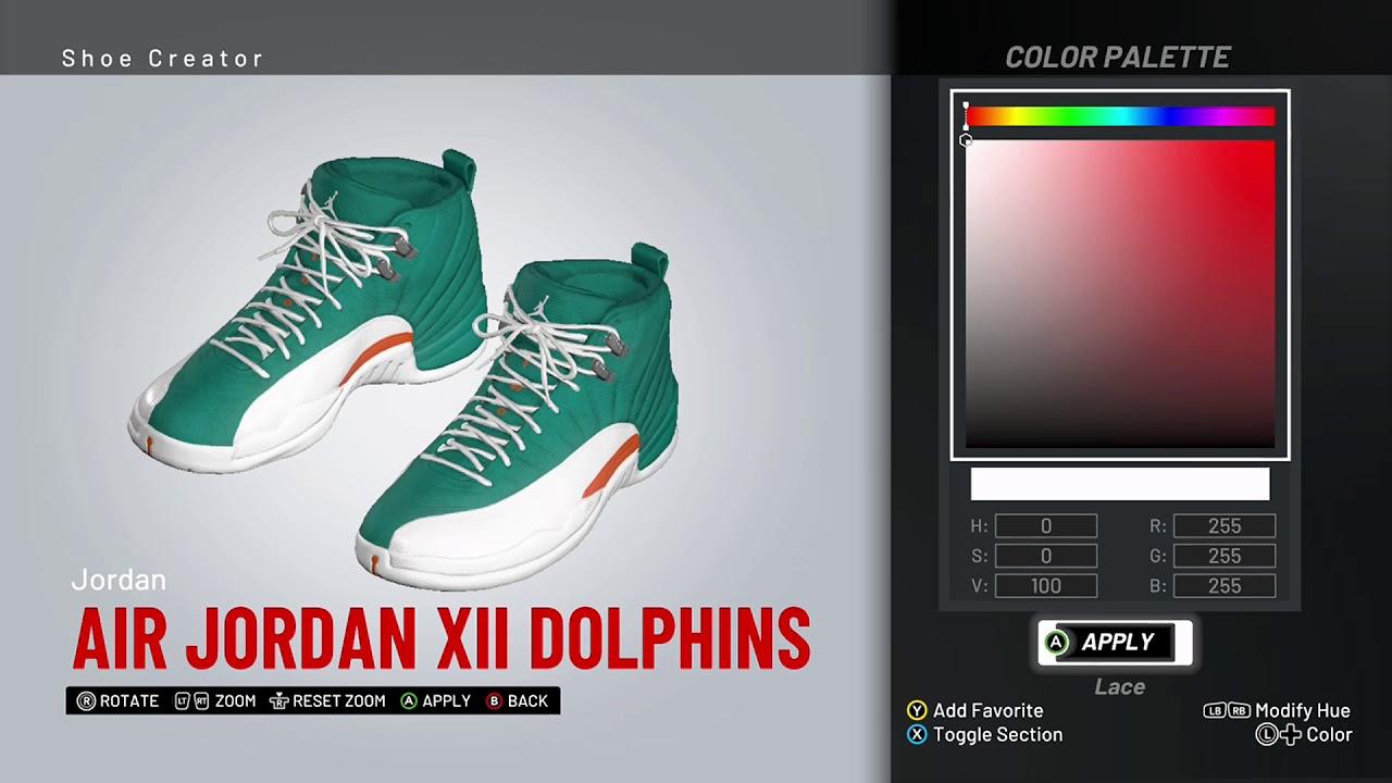 Air Jordan 12 Custom \