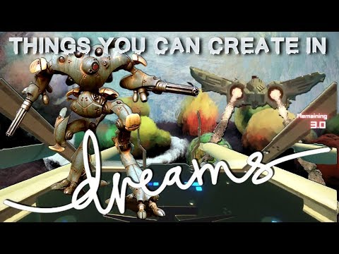 Dreams Creations | Things You Can Make In Dreams (PS4/PSVR)