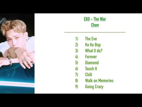 EXO - The War - Chen Cut