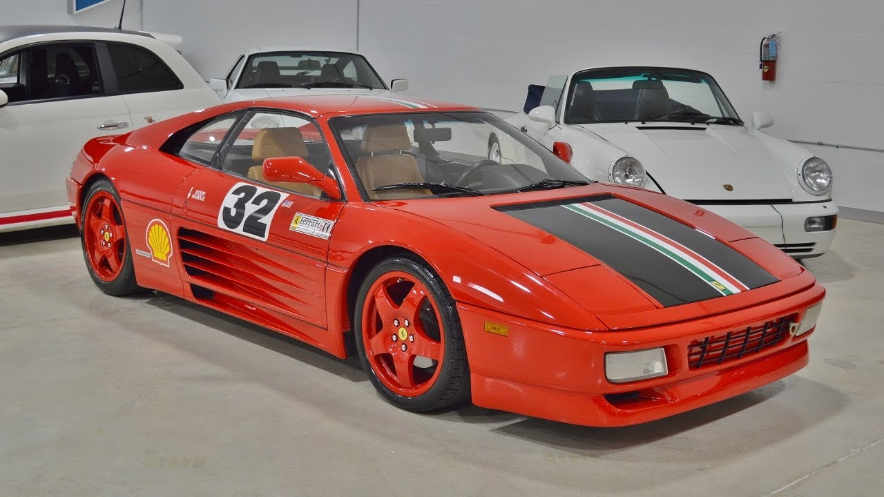 1990 ferrari 348 ts challenge walk around start up for sale call 786 291 3622 youtube. Black Bedroom Furniture Sets. Home Design Ideas