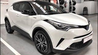 Entrega Toyota CHR 125h Advance Plus + Pack Luxury Blanco Perlado - Quiero Comprar un Coche - Madrid