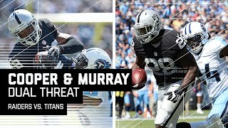 Amari Cooper's Great Catch & Latavius Murray's Tackle-Breaking TD Run! | Raiders vs. Titans | NFL