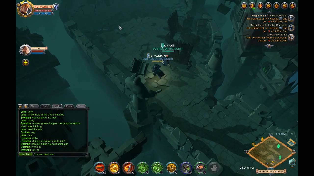 Albion Online T4 Dungeon Faming to Get to T5