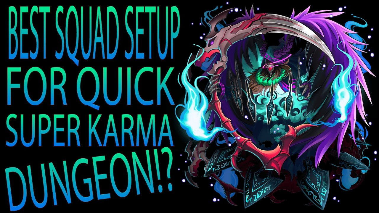 how to get karma in brave frontier
