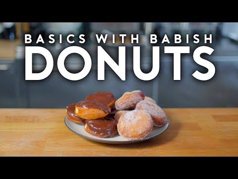 Donuts   Basics with Babish
