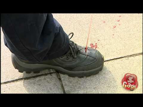 Bleeding Foot Prank