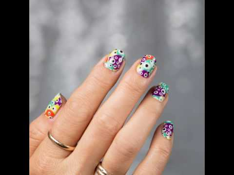 glow in the dark jamberry nail wraps for halloween
