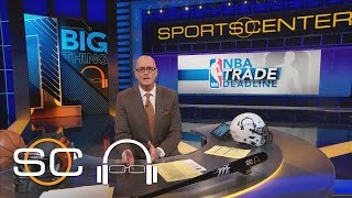 NBA Trade Deadline More Sizzle Than Steak | 1 Big Thing | SC With SVP