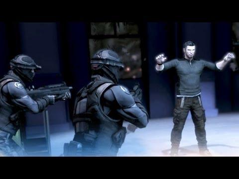 Third Echelon Agents Capture Sam Fisher in Kobin's Mansion (Splinter Cell: Conviction)
