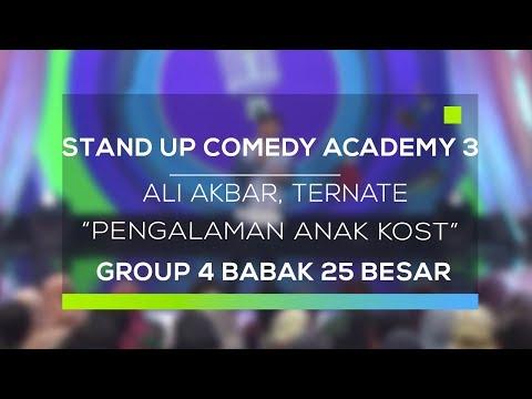 Stand Up Comedy Academy 3 : Ali Akbar, Ternate - Pengalaman Anak Kost