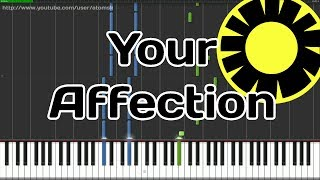 Persona 4 - Your Affection (Synthesia)