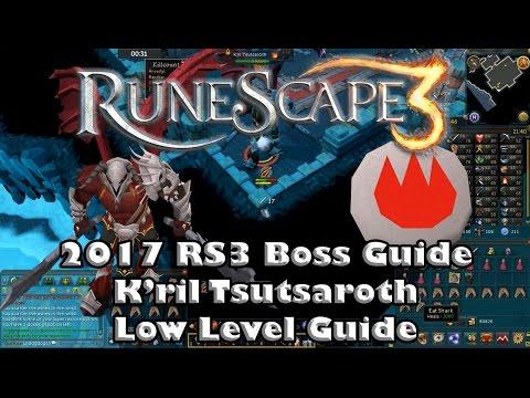 RS3 Solo Boss Guide - K'ril Tsutsaroth(Zamorak Boss) - Low Level Guide