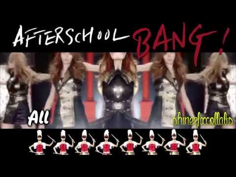 〖LUCKY☆7〗《After School (アフタースクール) - Bang! PV (Japan Ver.)》「COLLAB」