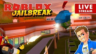 ROBLOX JAILBREAK LIVE New 1 Billion Visits Update! Roblox Jailbreak Mini Game | Playing with Subs