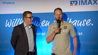 IMAXX Spielertalk Saison 20182019 09 mit Stefan Kneer HSG Wetzlar
