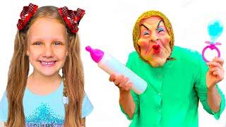 Няня и забавная история для детей   Правила поведения для детей