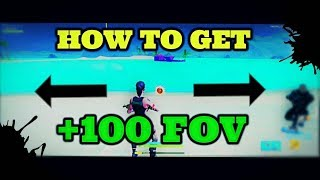 How to GET BETTER FOV by using this RESOLUTION in Fortnite! )