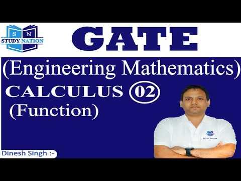 GATE Engineering Mathematics : Calculus 02 : Function