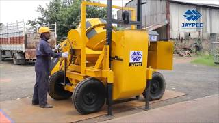Jaypee Concrete Mixer With Lift Hoist   Concrete Lift Machine