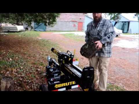 Menards Brute 22-ton log splitter