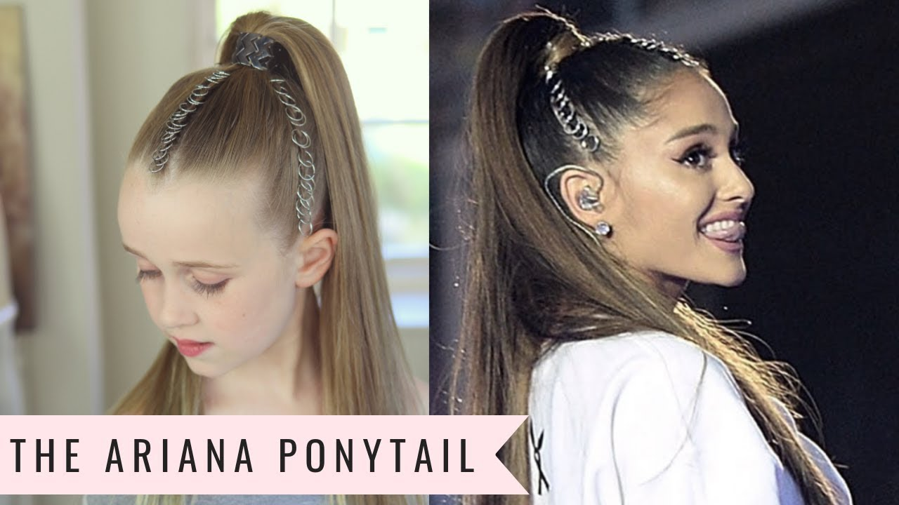 the ariana grande ponytail👱🏼‍♀️by sweethearts hair