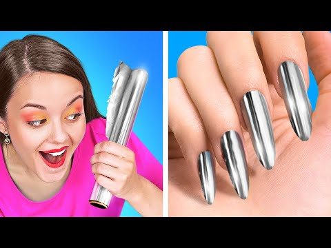 AWESOME BEAUTY HACKS AND TRICKS    If Make Up Were People Funny Situations by 123 Go! GENIUS