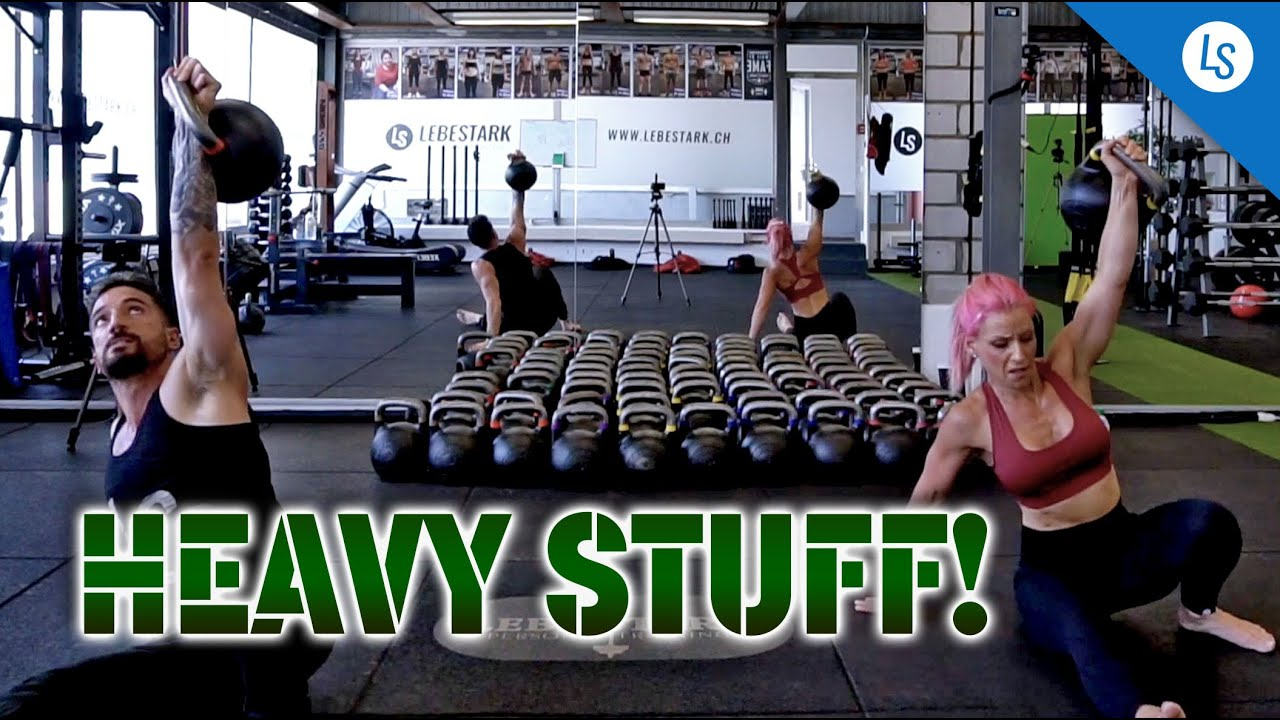 Let U0026 39 S Do 20 Minutes Of Heavy Lifting With Heavy Kettlebells