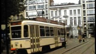 Trams in België in de 80-er jaren