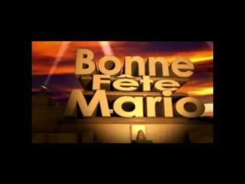 bonne f te mario youtube. Black Bedroom Furniture Sets. Home Design Ideas