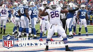 Bills RB Anthony Dixon Dives For 1-Yard TD Run | Colts Vs. Bills | NFL