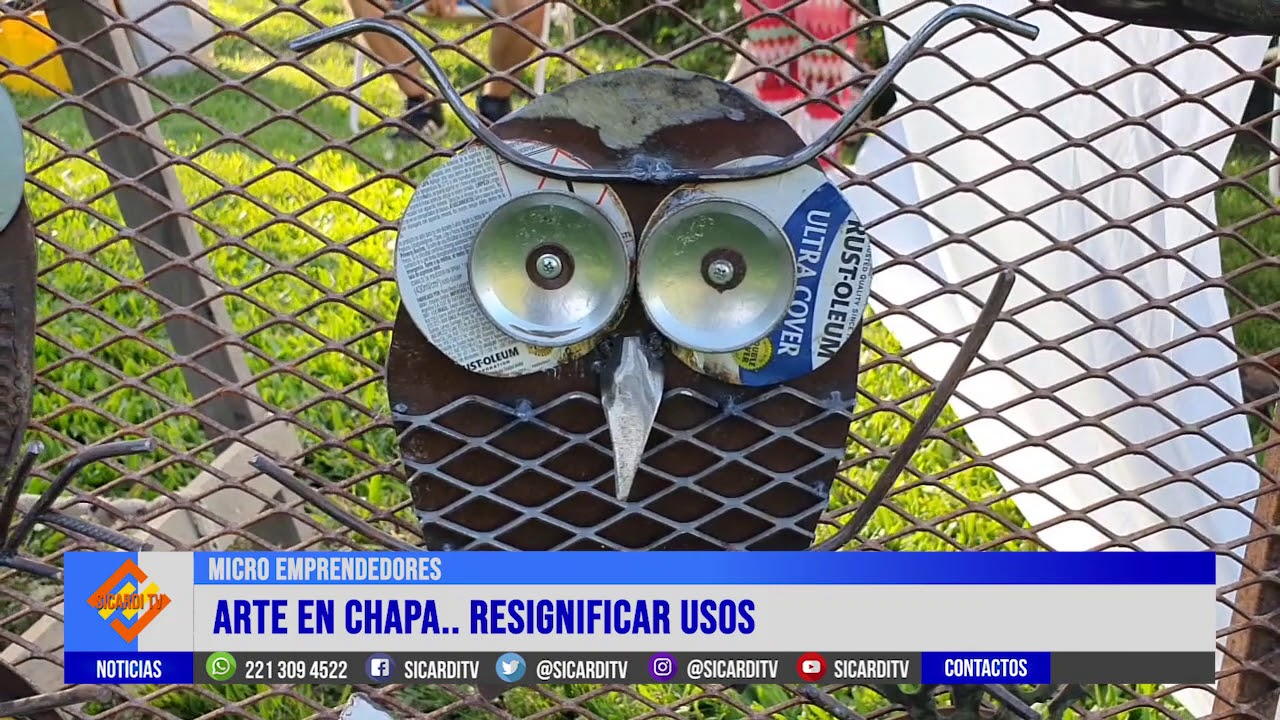 MIICRO EMPRENDEDORES: Hoy Juan Jalil, arte en chapa...