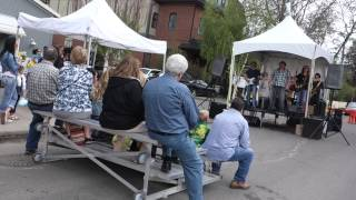 Outdoor Band at Lilac Festival Calgary 2014
