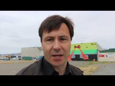 Christchurch Entry into YouTube Graffiti Street Art Challenge - VLOG #33