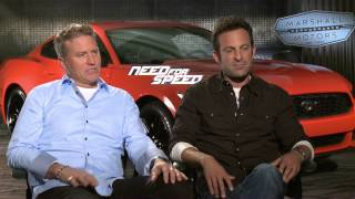 Need for Speed: Scott Waugh & Lance Gilbert Official Movie Interview Part 1 of 2