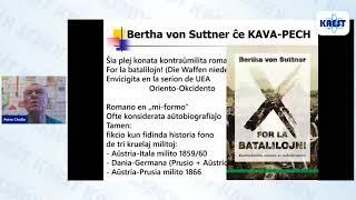 Bertha von Suttner: Vivo kaj verko – Petr Chrdle | KAEST 2020