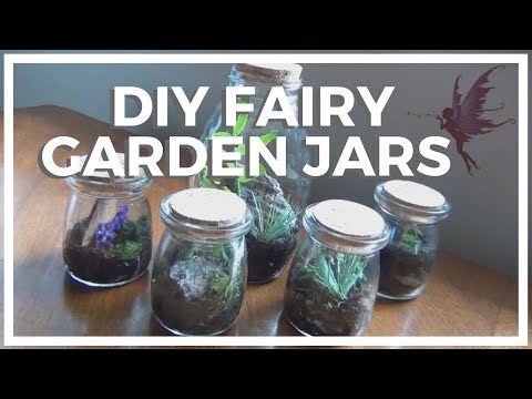 Fairy Garden Jars ♥ DIY!