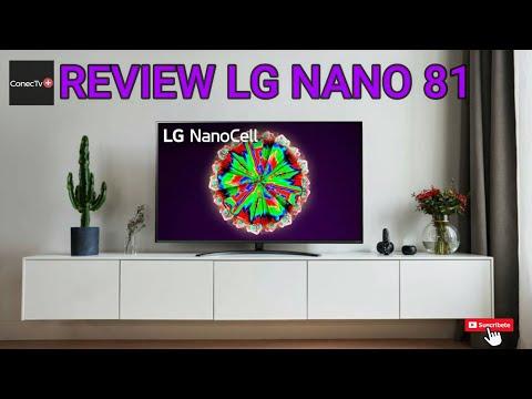LG NANO81 Smart TV NanoCell 4k línea de TV 2020: Review en Español