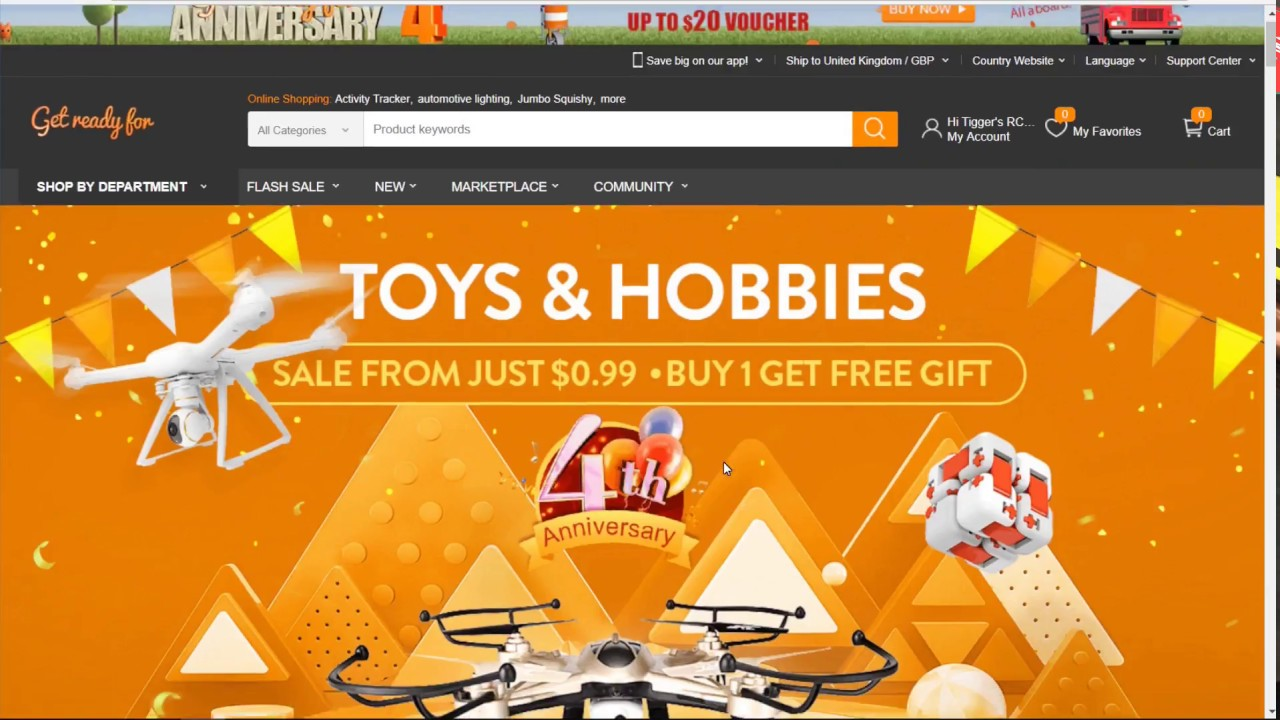 Gearbest 4th Anniversary Deals, Coupons and how to use them