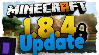 Minecraft 1.8.4 Update – Was ist Neu? (German) Alle Neuerungen des Sicherheitsupdates!