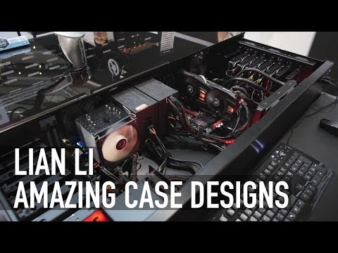 Lian Li - Amazing Case Designs - Computex 2014