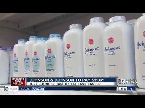 Johnson & Johnson to pay woman $110M for causing her cancer