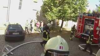 Übung DRK + FW Rottenburg am Neckar